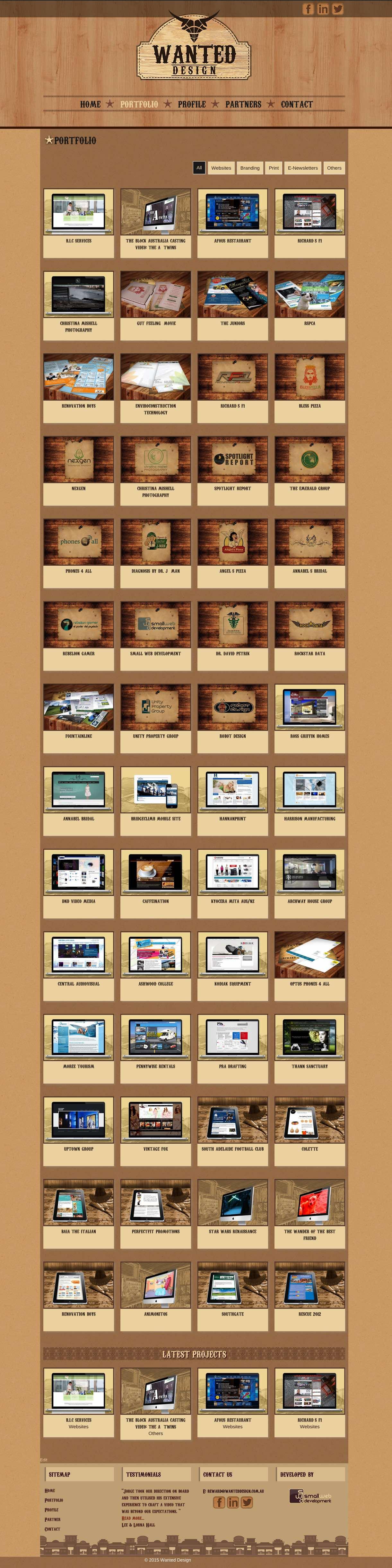 Wanted Design - Portfolio