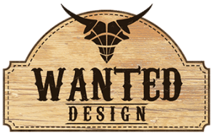 Wanted Design Logo