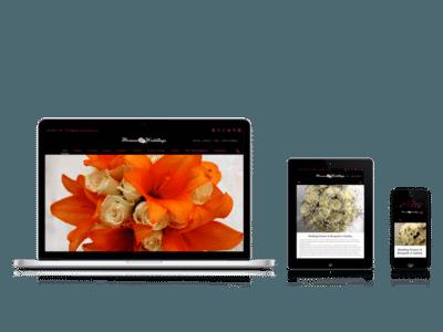 Flowers & Weddings Responsive Layouts